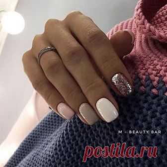 дизайн ногтей фото новинки на короткие ногти 3