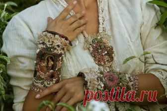 Броши в стиле бохо (52 фото): текстильные модели, винтаж из текстиля и кружева в стиле бохо-шик