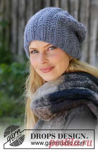 объемные шапки спицами для женщин со схемами и описанием 2018