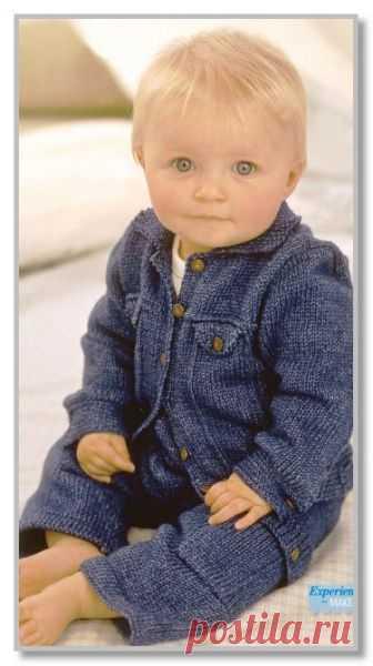 Штанишки вязание спицами для детей от 0 до 3 лет с описанием