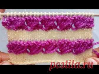 Two Colour Knitting Pattern