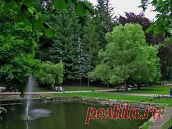 Стрыйский парк это место где посвящают любимым песни и стихи