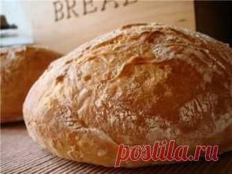 Хлеб без замеса. Быстрая версия : Хлеб, батоны, багеты, чиабатта