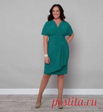Идеальное платье для полных дам | Океан Красоты | Яндекс Дзен