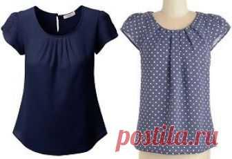 Простая выкройка блузы на каждый день (Шитье и крой) Сшить красивую, модную иудобнуюблузкусовсем нетрудно! Такой фасон подойдет на любую фигуру и будет незаменимой в вашем гардеробе. Сшить такую блузку сможет и начинающая портниха! Определите свой…