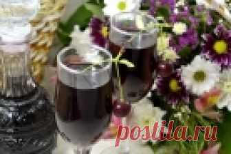 Настойка вишневая на водке - пошаговый рецепт с фото на Повар.ру
