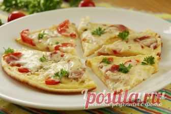 Пицца на сковороде за 10 минут: пошаговый рецепт на сметане | Простые рецепты с фото