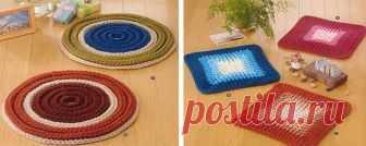 Los tapices pequeños simples por el gancho para los principiantes | el Conforte y calor de mi casa