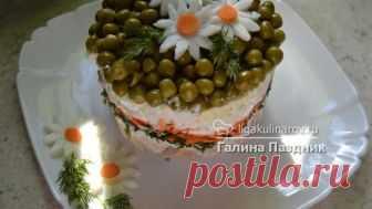 Салат мои ромашки рецепт с фото