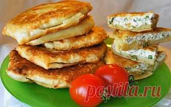 Tasty flat cakes by a breakfast | the Yum-yum | Yandex the Zen