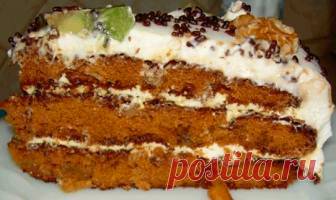 Торт Татьяна — простой домашний торт, который в состоянии испечь любая начинающая хозяйка.