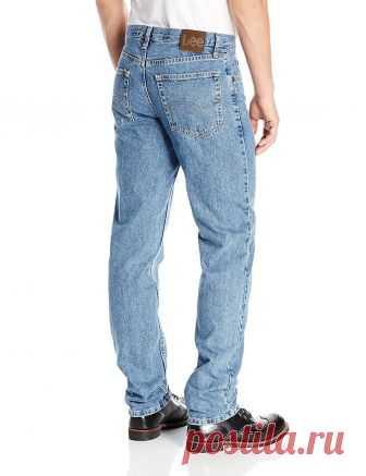 aef92080826 Lee Men s Regular Fit Straight Leg Jean