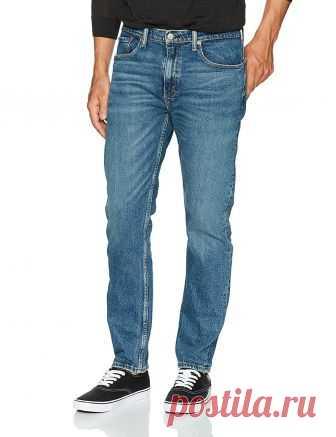 Levi's Men's 502 Regular Taper Jean, Demic-Stretch, 28W x 32L at Amazon Men's Clothing store:
