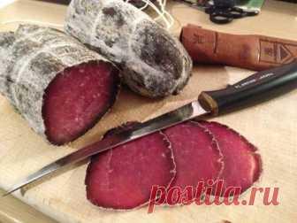 Брезаола - вяленое мясо в вине | Домохозяйка