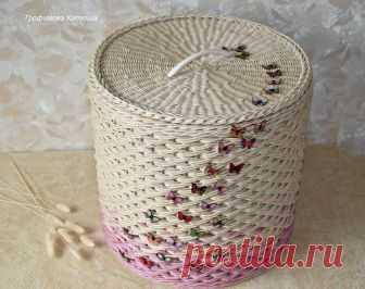Плетеные изделия в Омске