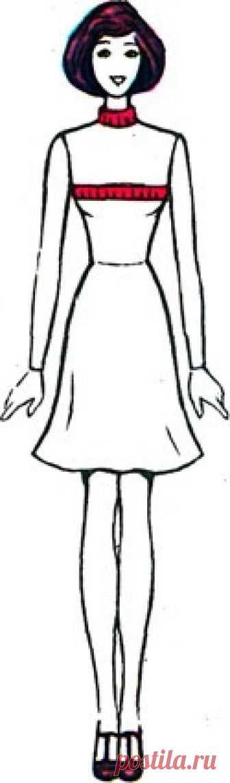 . Вязание. Снятие мерок Пропорции фигуры  Всем, кто связан с процессом создания одежды, необходимо знать пропорции человеческого тела.