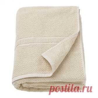 ФРЭЙЕН | Простыня банная |  Доставка товаров из IKEA | VAMDODOMA Мягкое махровое полотенце средней толщины прекрасно впитывает влагу (плотность 500 г/м²).Длинные волокна чесаного хлопка придают полотенцу прочность и мягкость.