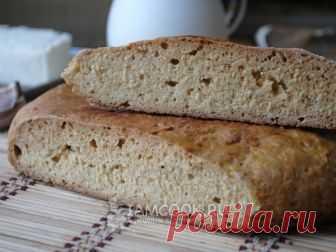 Хлеб на сковороде без дрожжей — рецепт с фото Для приготовления вкусного хлеба не обязательно иметь духовку, понадобится только сковорода.