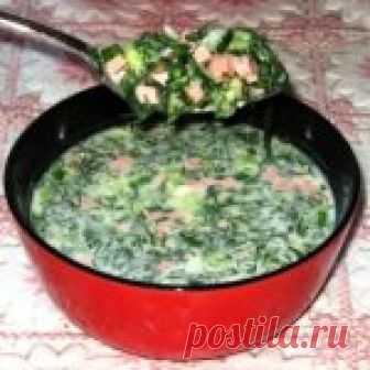 Окрошка на сыворотке Кулинарный рецепт