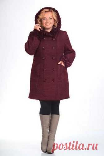El abrigo para las mujeres corpulentas de las marcas principales bielorrusas, el otoño-invierno 2016-2017 (75 fotos)