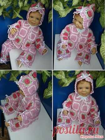 Комплекты для малышей мотивами (много фото) - Вязание для детей - Страна Мам