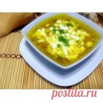 Рыбный суп с яйцом Кулинарный рецепт