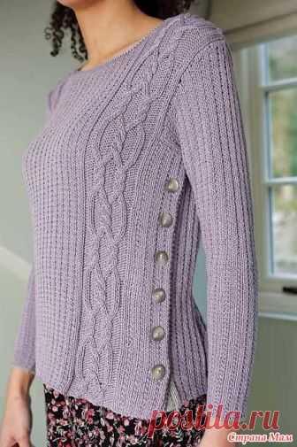 . Пуловер на пуговицах