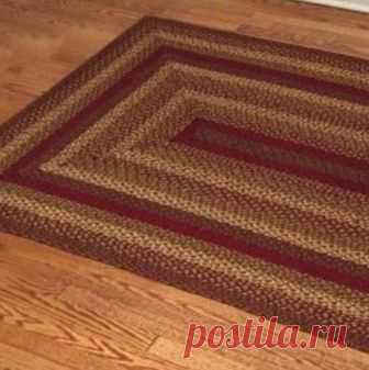 Country Style Braided Jute Rugs - Cinnamon Deep red, green, tan and cream  	Available in many sizes, either oval or rectangular  	100% braided jute fiber  	We recommend placing a pad under your rug for longer wear  	Ships to Continental US Only  	Due to the special order nature of these items, there will be a 15% restocking fee on returns, except in the case of defective merchandise.