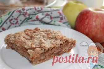 Насыпной яблочный пирог три стакана — простой и вкусный рецепт Насыпной яблочный пирог три стакана — простой и невероятно ароматный рецепт. Вкус сделанного из 3-х стаканов муки, сахара и манной крупы шедевра покорит вас