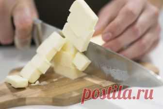 Как размягчить сливочное масло: советы от шеф-повара — Лайфхаки