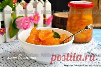 ароматные абрикосы в нежном желе