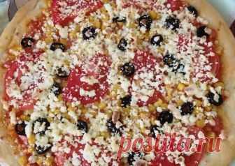 Пицца домашняя Автор рецепта Marina Popova - Cookpad