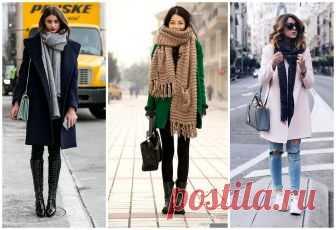 Как носить шарф с пальто с английским воротником и без: хомут, палантин, шарф-снуд Учимся выбрать шарф к пальто. Существуют два основных критерия, которые являются ключевыми при выборе данного аксессуара: цвет и ткань.