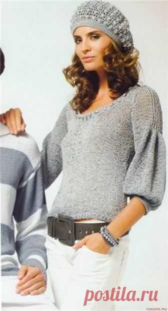 блузы и пуловеры спицами | Записи в рубрике блузы и пуловеры спицами | Дневник Иримед