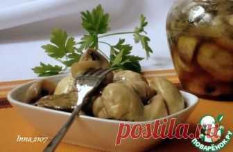 Маринованные шампиньоны по-венесуэльски - кулинарный рецепт