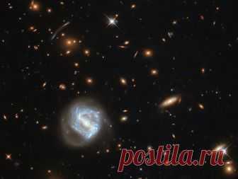 Куда расширяется Вселенная?