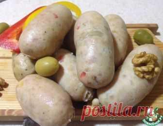 Сардельки домашние с зернами горчицы – кулинарный рецепт