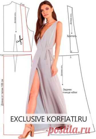 eb3fd6c43b1 Простые выкройки платьев от Школы Шитья Анастасии Корфиати ...