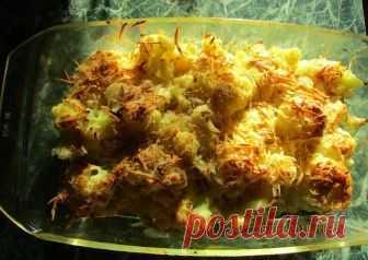 Хрустящая цветная капуста под сыром Автор рецепта Вера - Cookpad