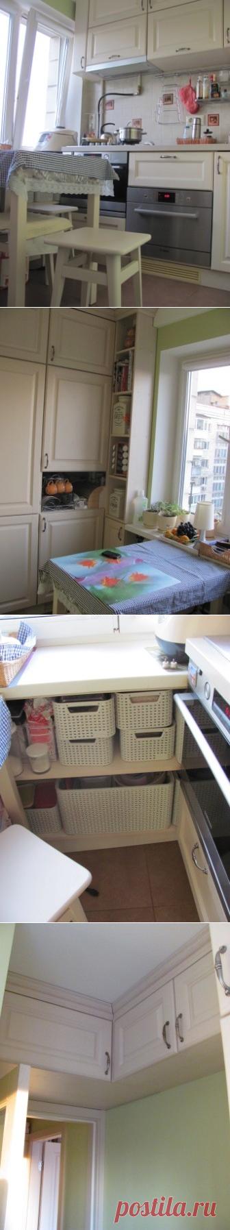 Очень маленькая кухня и два вопроса - Реактивные хозяйки