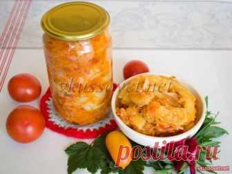 Кабачки жареные с овощами Кабачки жареные с овощами  Рецепт приготовления закуски из свежего обжаренного кабачка с овощами на зиму. Салат получается очень вкусным и может подаваться как самостоятельное блюдо. Необходимые ингредиенты: - 800 г. кабачков (очищенных); - 2 морковки; - 400 – 500 г. свежих помидор; - 2 – 3