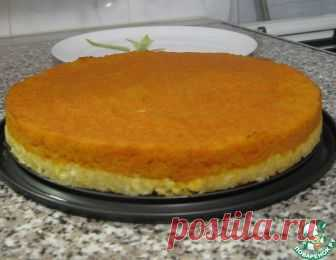 Bilateral pumpkin casserole on a cottage cheese basis - the culinary recipe