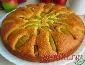 Кукурузный пирог с грушами – кулинарный рецепт