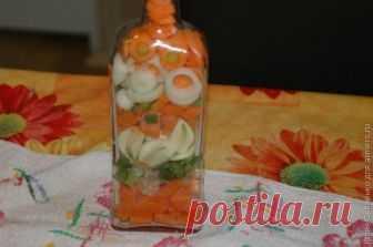 Делаем декоративную бутылку для кухни
