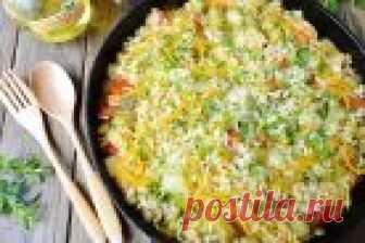 Рис с баклажанами и сладким перцем - пошаговый рецепт с фото на Повар.ру