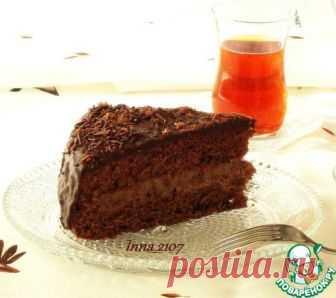 Торт шоколадный с заварным кремом - кулинарный рецепт