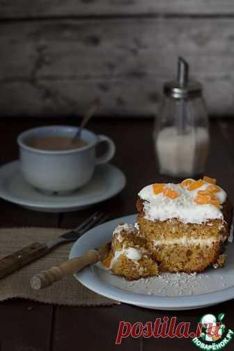 Морковный торт по-скандинавски - кулинарный рецепт
