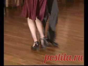 Видео уроки по вальсу - Вальс-танго Танцевальный микс из движений вальса и танго. Рассмотрены особенности взятых движений из обеих танцевальных направлений. Видео курс на английском языке.