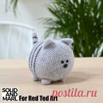 Pusheen The Cat - A Free Crochet Pattern - Emma's Animal Creations | 336x336