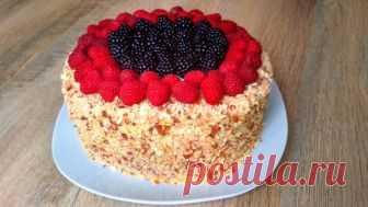 ТОРТ НА СКОВОРОДЕ! Нереально Вкусный Десерт в Домашних Условиях ТОРТ НА СКОВОРОДЕ! Нереально Вкусный Десерт в Домашних Условиях! Cake ON THE FLOOR - Видео